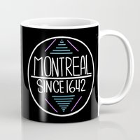 montreal Mugs featuring Montreal by Aurelie