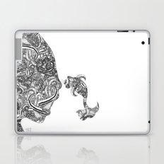 Homme Poisson B&W Laptop & iPad Skin