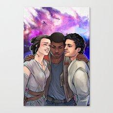 Star Friends Canvas Print