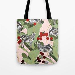 Zebra Harem #society6 #decor #buyart Tote Bag