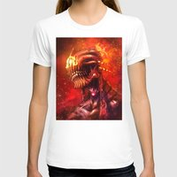 mars T-shirts featuring Mars by Vincent Vernacatola