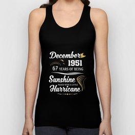 December 1951 Sunshine mixed Hurricane Unisex Tank Top