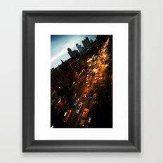 9th Avenue Framed Art Print