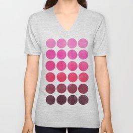Color Play Pink Unisex V-Neck