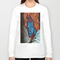 caleb troy Long Sleeve T-shirts featuring Troy by Robin Curtiss
