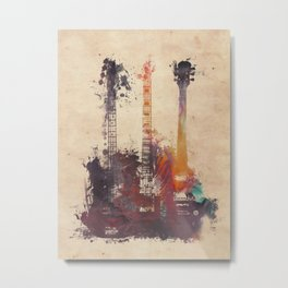 guitars 3 Metal Print