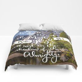 Psalm 91 with Background Comforters