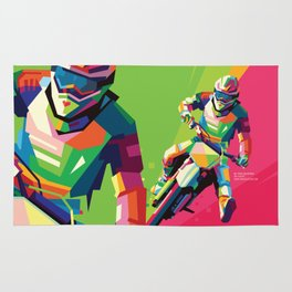 Motocross Top-notch WPAP #2 Rug