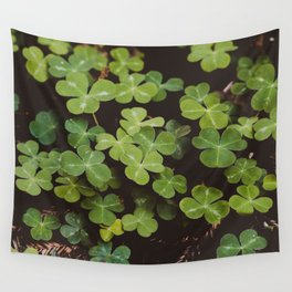 Redwood Sorrel - Nature Photography Wall Tapestry