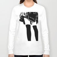 death note Long Sleeve T-shirts featuring Death Note Girl by Yukikochild