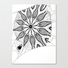Boho Webs Canvas Print