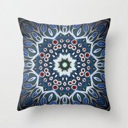 Mandala Seven Throw Pillow