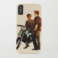 need a ride? iPhone X Slim Case