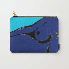 Recline in Blue Carry-All Pouch