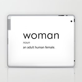 Woman (Definition) Laptop & iPad Skin