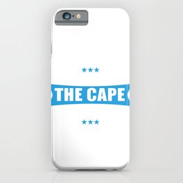 Superheroes Without The Cape Are Called Engineers iPhone Case