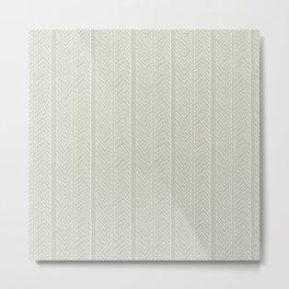 Chevron Simplicity Metal Print
