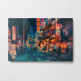 Electric Dreams III- Japan Photo Print Metal Print