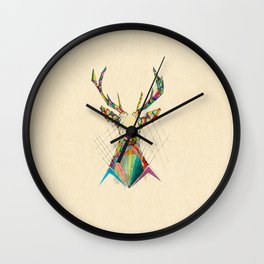 Illustrated Antelope Wall Clock