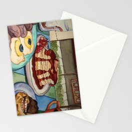 Breakfast at Hannibal's Stationery Cards
