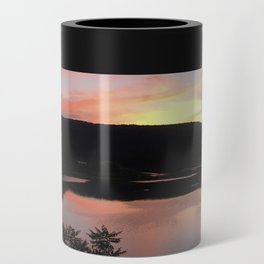 Summer Solstice Sunset Across The Big Eddy Can Cooler