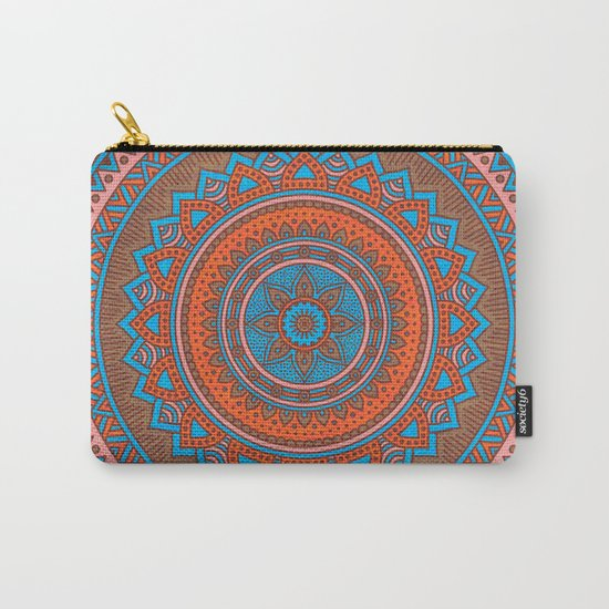 Hippie mandala 58 Carry-All Pouch