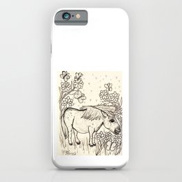 Marvelous Miniature Horse iPhone Case