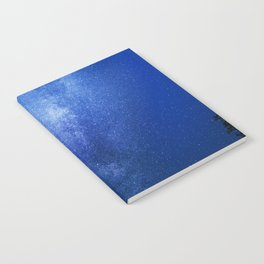 Looking up into the milkyway galaxy Notebook
