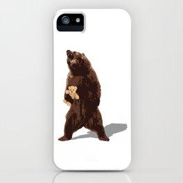 grizzlies need hugs too iPhone Case