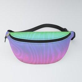 Groovy Pastel Rainbow Fanny Pack