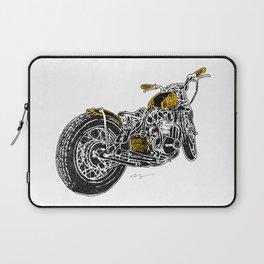 """""""Rootbeer Bobber"""" Custom Motorcycle Laptop Sleeve"""