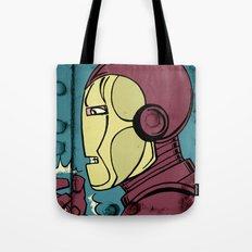Armor Man Tote Bag