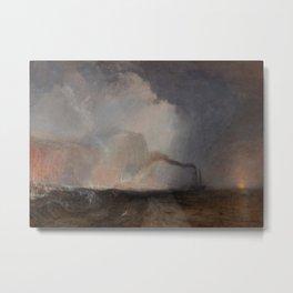 Staffa, Fingal's Cave by Joseph Mallord William Turner Metal Print