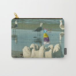 It's better at the beach #2 Carry-All Pouch