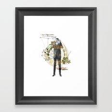 Mr. Camera Man Framed Art Print