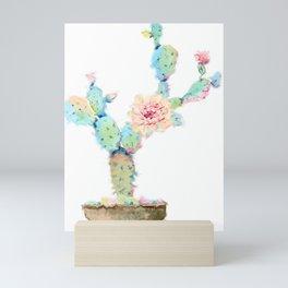 lovely cactus Mini Art Print