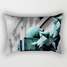 Labyrinth Scorn Rectangular Pillow