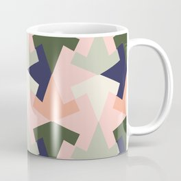 Retro pattern geometric Coffee Mug