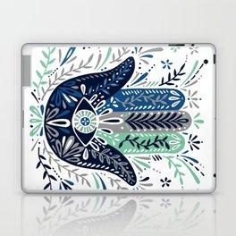 Hamsa Hand – Navy Palette Laptop & iPad Skin