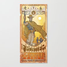 Frontier Legacy Canvas Print