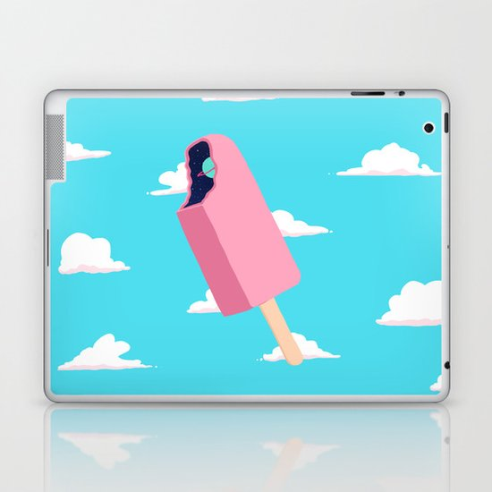 Creamsicle To Another Dimension...  Laptop & iPad Skin