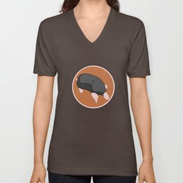 Cute mole Unisex V-Neck