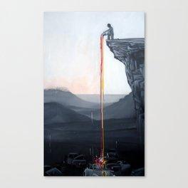 A Neutral World Canvas Print