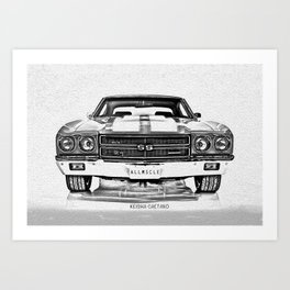 1970 Chevelle Art Print