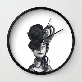 Woman XY 101 Wall Clock