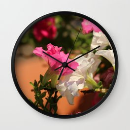 Glorious Abstract Floral  Wall Clock