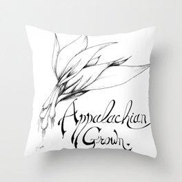 Appalachian Grown Throw Pillow