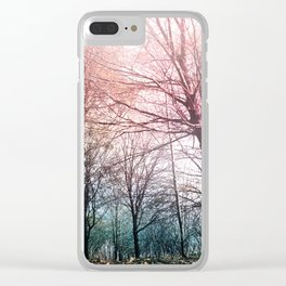 Warming Up Clear iPhone Case