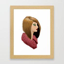 Furry Framed Art Print