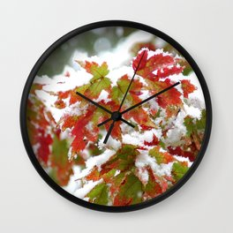 Three seasons in A Single Day Wall Clock